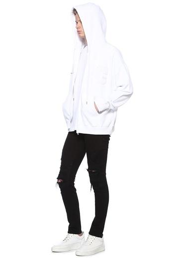 Marcelo Burlon Sweatshirt Beyaz